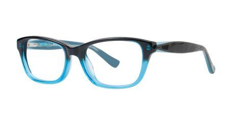 Kensie Girl Daring Kids Eyeglasses Black