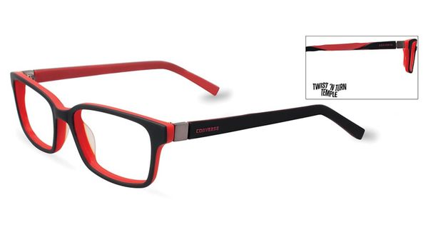Converse Kids Eyeglasses K020 Black