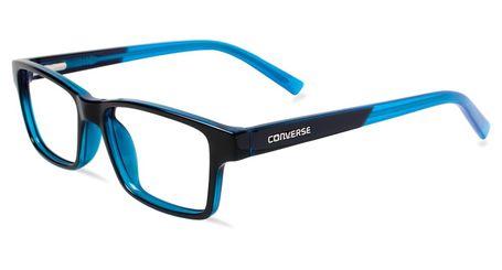 Converse Kids Eyeglasses K017 Black/Blue
