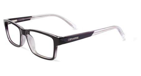 Converse Kids Eyeglasses K017 Black/Crystal