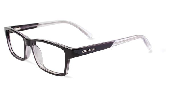 Converse Kids Eyeglasses K017 Black/Crystal