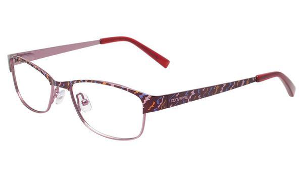 Converse Kids Eyeglasses K014 Burgundy