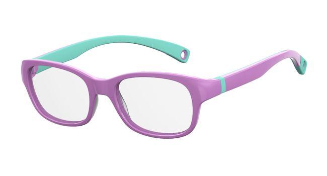 Kids By Safilo Sa0007 Eyeglasses Violet Green 00B2