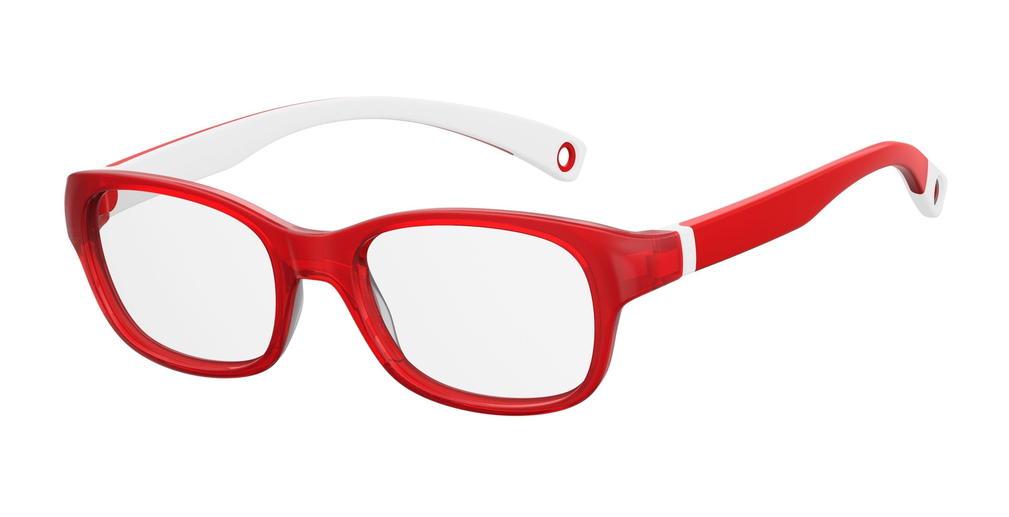 Kids By Safilo Sa0007 Eyeglasses Red White 03KJ Sa0007-03KJ - Optiwow