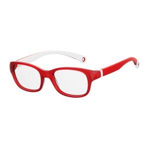 Kids By Safilo Sa0007 Eyeglasses Red White 03KJ