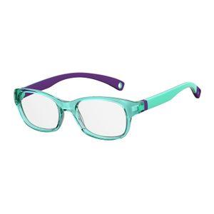 Kids By Safilo Sa0007 Eyeglasses Dk Green Violet 0BMC