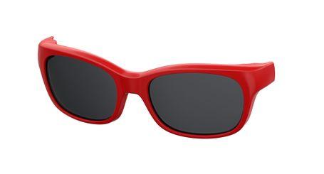 Kids By Safilo Sa0007 Eyeglasses Clip Only Polarized Red 0C9A