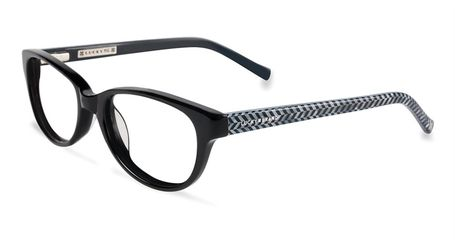 Lucky Brand Children's Eyeglasses D701 Black
