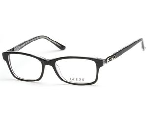 Guess Kids GU9131 Girls Eyeglasses Black/Crystal 003