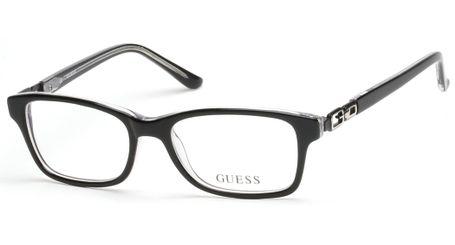 Guess Kids GU9131 Girls Eyeglasses Black/Crystal 003