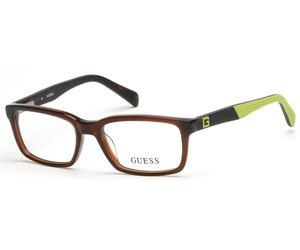 Guess Kids GU9147 Boys Eyeglasses Dark Brown 050