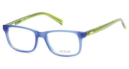 Guess Kids GU9161 Boys Eyeglasses Matte Blue 091