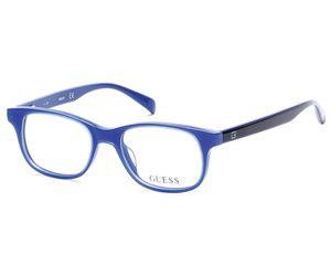 Guess Kids GU9163 Eyeglasses Shiny Blue 090