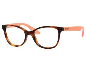 Carrera Kids Eyeglasses Carrerino 50 0HMI Havana Peach