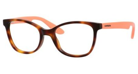 Carrera Kids Eyeglasses Carrerino 50 0HMI Havana Peach