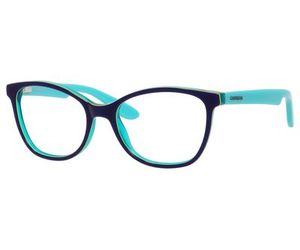 Carrera Kids Eyeglasses Carrerino 50 0HMJ Blue/Lime Green