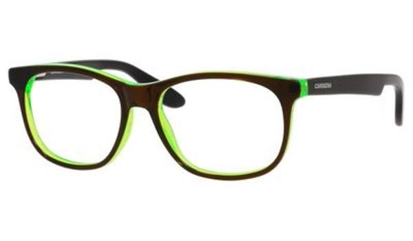 Carrera Kids Eyeglasses Carrerino 51 0HNF Brown/Green