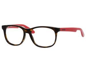 4d7484eb609 Carrera Kids Eyeglasses Carrerino 51 0HNJ Havana Red