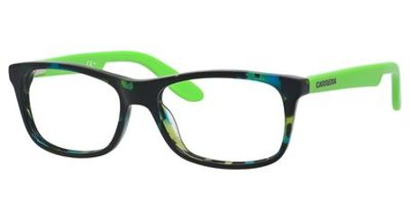 Carrera Kids Eyeglasses Carrerino 57 0W9T Havana/Green