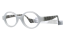 Miraflex Baby Lux Kids Eyeglasses Clear Gray-JC