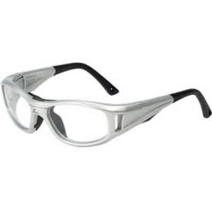 C2 Rx Hilco Leader Kids Sports Saftey Glasses 365308000 Silver