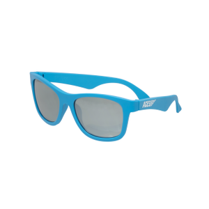 Babiators Navigattor ACE-016 Childrens Sunglasses Blue Crush Mirrored Lenses