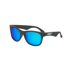 Babiators Navigattor ACE-017 Childrens Sunglasses Black Ops Black Blue Lenses